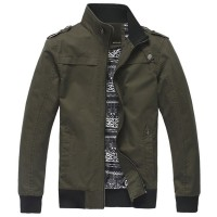 时尚硬派风水洗夹克[3色] 7710