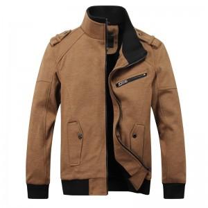 男夹克外套休闲夹克立领韩版外套[2色] 803